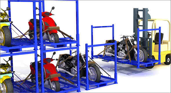 motorcycle pallet