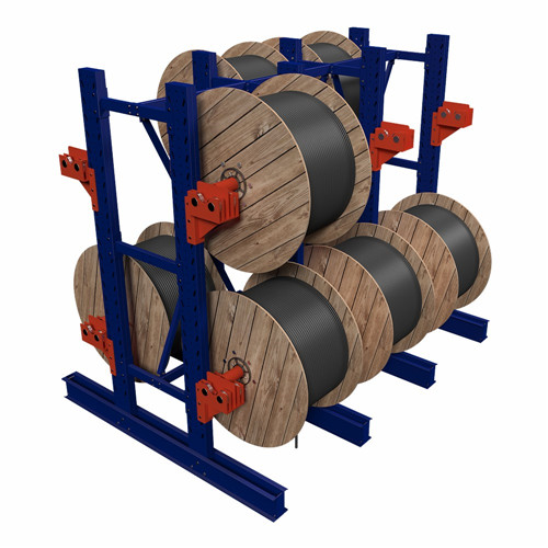 Cable Reel storage Racks