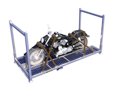 About motorcycle rack
